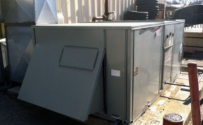 Ground Mount Commercial Air Conditioning Replacement