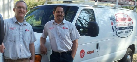 Dan and Sven of Country Heating and Air